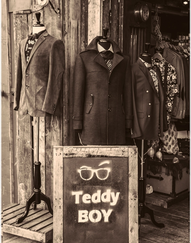 Image of Teddy Boy Clothes in London